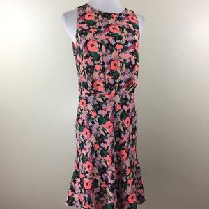 NWT J CREW Mercantile Bright Floral Print Dress
